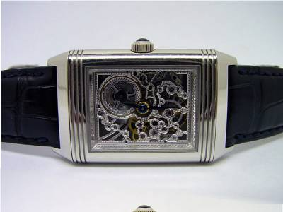 Jaeger le Coultre REVERSO NUMBER ONE in Platin