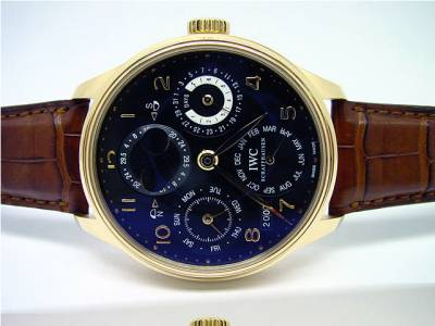 IWC Portugieser ewiger Kalender in Rotgold
